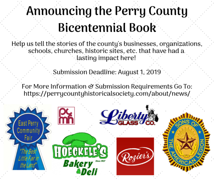 Announcing the Perry County Bicentennial Book